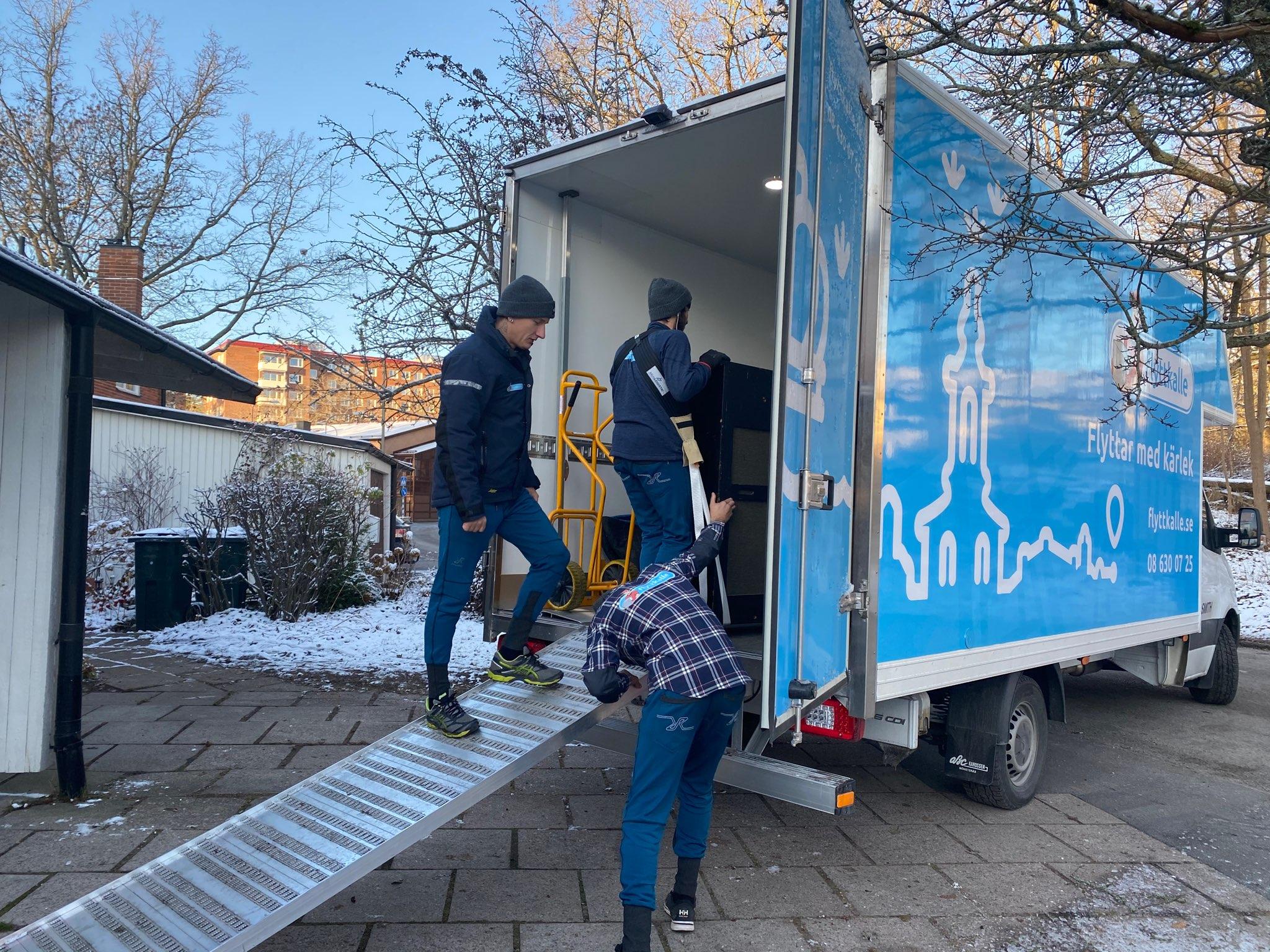 Pianoflytt Stockholm